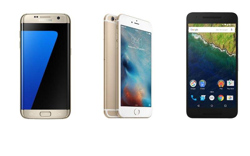 Samsung Galaxy S7, Galaxy S7 edge, Galaxy S7 price, Galaxy S7 edge sale, Galaxy S7 edge pre-booking, Galaxy S7 edge vs iPhone 6s Plus vs Nexus 6P, Galaxy S7 edge vs Nexus 6P camera, Galaxy S7 edge vs iPhone 6s Plus, Specs battle, technology, technology news