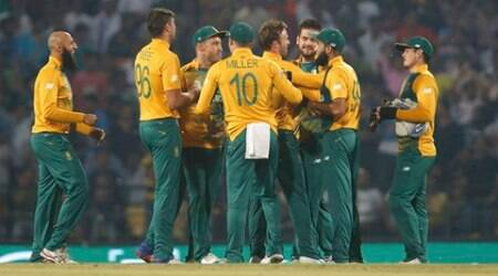 Cricket - South Africa v West Indies - World Twenty20 cricket tournament