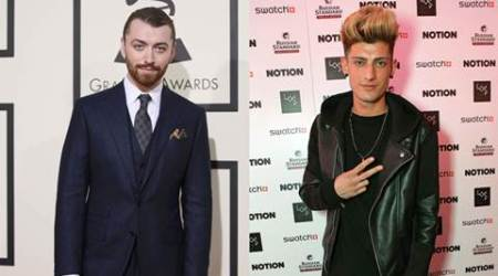 Sam Smith linked to boyband singer TayTay Starhz