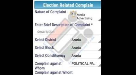Have a poll related complaint? Post it on EC's app Samadhan