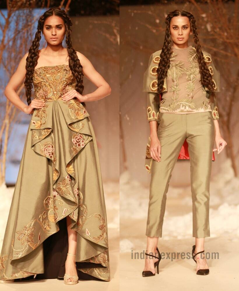 AIFW A/W'16: Designer Samant Chauhan goes on a Silk Route journey