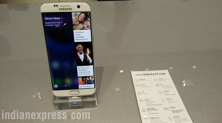 Samsung Galaxy S7 edge is now slightly larger than its predecessor S6 edge and comes with an always-on display