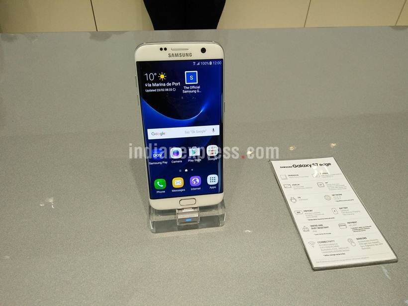 Samsung, Samsung Galaxy, Samsung Galaxy S7, Samsung Galaxy S7 Edge, Samsung Galaxy S7 launch, Samsung Galaxy S7 specs, Samsung Galaxy S7 price, smartphones, Android, Samsung TouchWiz UI, tech news, technology