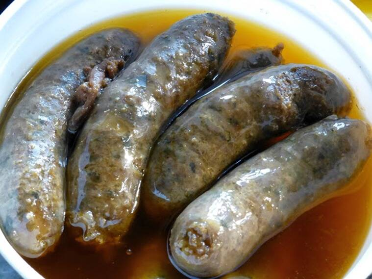 These sausages release their own juices, seep liquid fat, and some very heavenly aromas.