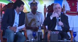 Justice P Sathasivam In Conversation With Anant Goenka At Express Tech Sabha's 19th Edition
