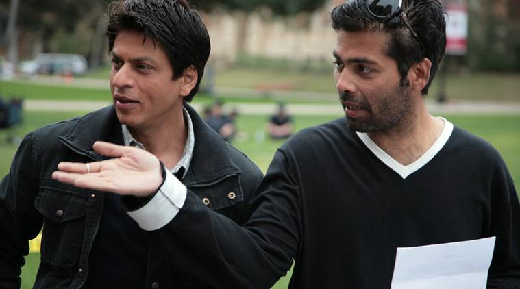 Image result for shahrukh karan johar directing