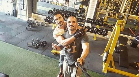 Shahid Kapoor is rigorously following an army man's  workout for Rangoon