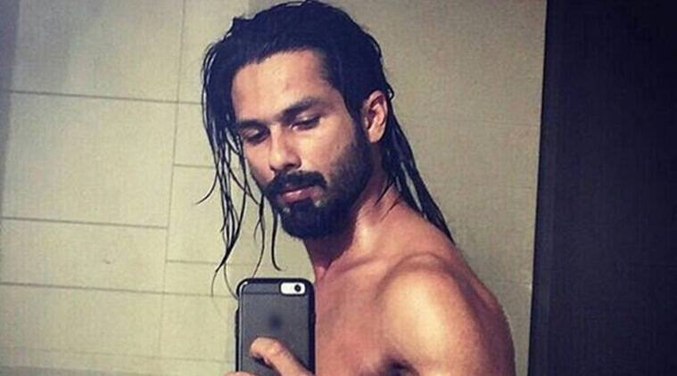 Shahid Kapoor Sports Long Hair Shows Off His Abs Is This His Look