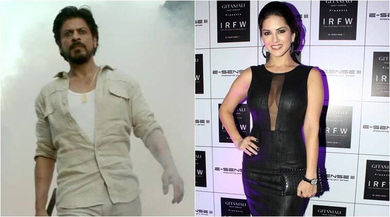 shah rukh khan, sunny leone, raees, laila o laila, srk, srk sunny leone, shah rukh khan sully leone, shah rukh khan sons, sunny leone song, shah rukh khan raees, sunny leone raees, entertainment news