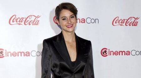 'Divergent' set like summer camp: Shailene Woodley