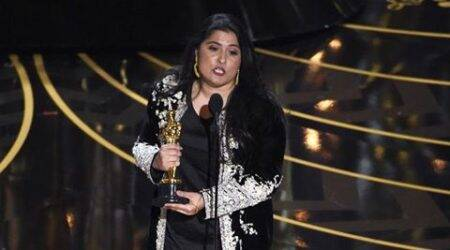 Sharmeen Obaid-Chinoy, Sharmeen Obaid-Chinoy oscar, oscars, oscars 2016, Pakistan's Oscar winner, Pakistan's Oscar winner name, Sharmeen Obaid-Chinoy oscars winner, entertainment news