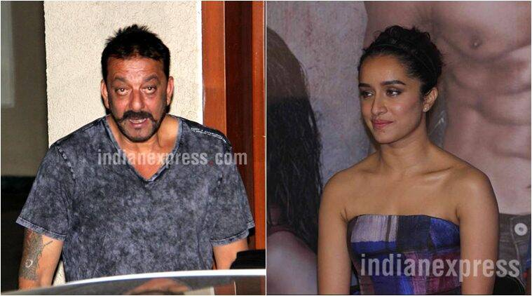 Shraddha Kapoor, Shraddha Kapoor Sanjay Dutt, Shraddha Sanjay, Shraddha Sanjay Film, Shraddha Sanjay movie, Entertainment news, Sanjay Dutt, Sanjay Shraddha, Sanjay Dutt Shraddha Kapoor