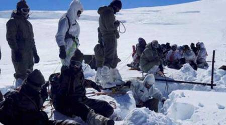 Siachen avalanche: Body of missing jawan recovered from under snow