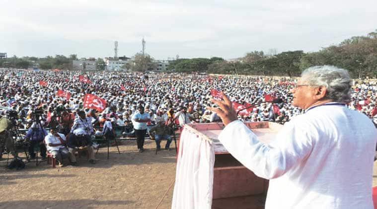 sitaram yechury, sharad yadav, CPM, congress, JD (U), kolkata news, bengal election, bengal assembly election, bengal election 2016, bengal news