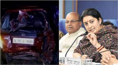Road death: Victim kin, Smriti Irani differ on what happened