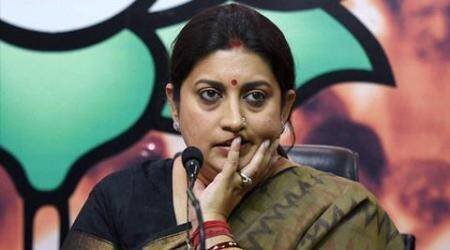 Smriti Irani, irani privilege motion, yechury irani privilege motion, hrd smriti irani, india news, parliament session, latest news, irani jnu row, rohith vemula suicide