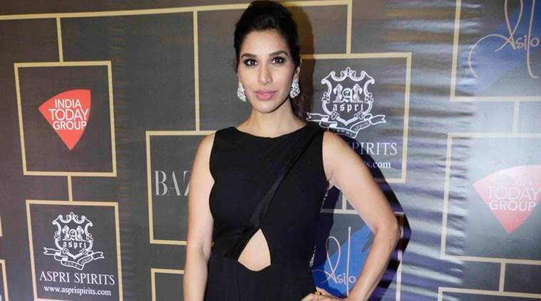 sophie choudhry, lakme fashion week, debut designer, abha choudhary, show stopper sophie choudhry, fashion news, indian express news