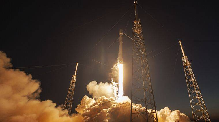 SpaceX, SpaceX SES Falcon9, SpaceX rocket launch, SpaceX crash lands, SpaceX Falcon 9 crash lands, reusable rocket, space, satellites, communication satellite, space news, science, tech news, technology