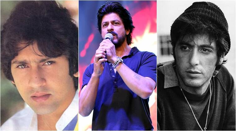 shah rukh khan, kumar gaurav, srk, fan, fan tariler launch, srk at fan trailer launch, srk fan, shah rukh khan fan, shah rukh khan fan trailer, al pacino, srk kumar gaurav, srk al pachino, shah rukh khan news, entertainment news