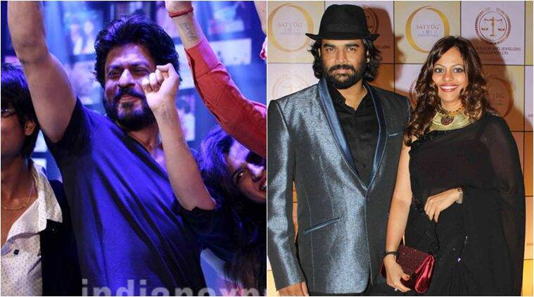 Shah Rukh Khan, Madhavan, R Madhavan, SRK, R Madhavan wife, Shah Rukh Khan Fan, SRK Fan, Entertainment news