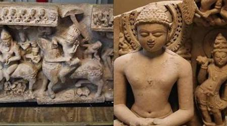 Stolen ancient Jain, Hindu statues worth $450,000 seized in the US