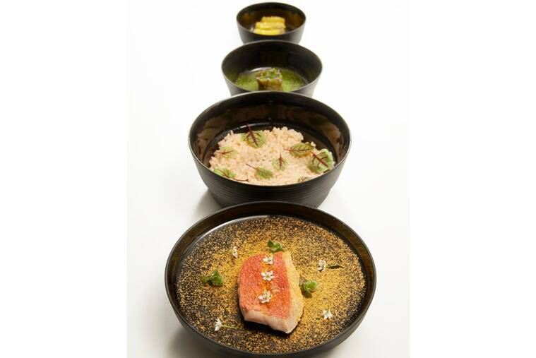 Story of a Fish Called Kin-Medai: A dish served in four acts.