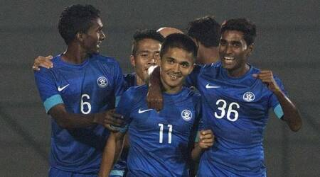AIFF launches low-priced 'Back the Blue' merchandise for fans