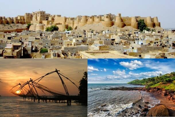 Top 10 Indian cities in 2016 as voted by travellers