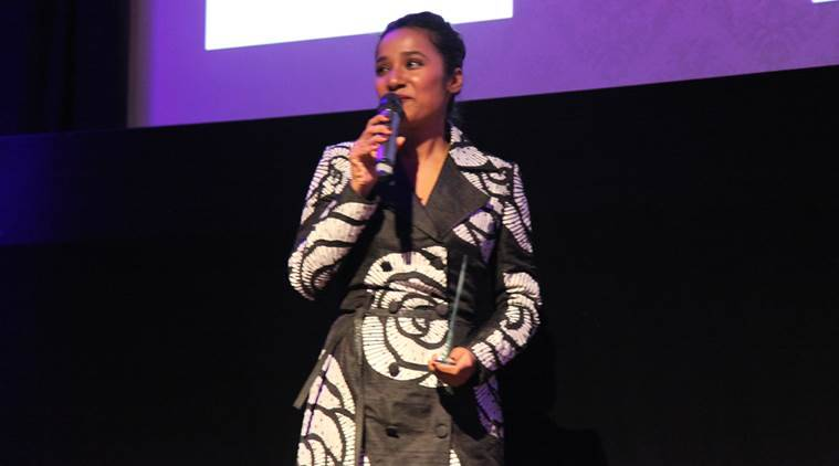 Tannishtha Chatterjee, Tannishtha Chatterjee London, Tannishtha Chatterjee Asian Cinema Award, Tannishtha Chatterjee Award in London, Tannishtha Chatterjee London Asian Film Festival, Entertainment news