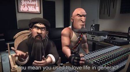 Watch: IS leader Abu Bakr al-Baghdadi stars as a bumbling idiot in animatedsatire