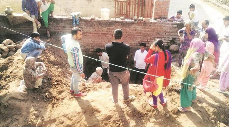 dudhgarh village, chandigarh village, security of women, women security in dudhgrah villahe, man construct toilet for wife, dudhgarh toilets, chandigarh news, panchkula news