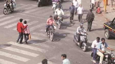 mumbai, mumbai news, mumbai traffic, mumbai traffic police, mumbai rounabouts, mumbai roads, indian express news