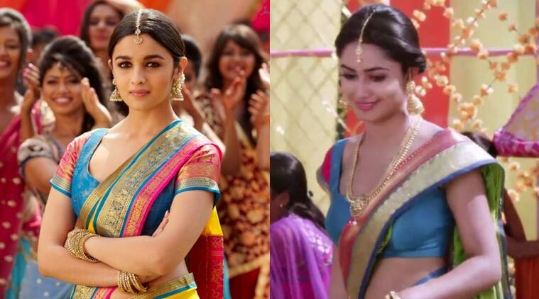 Tridha Choudhury, Tridha Choudhury Alia Bhatt, Tridha Alia, Alia Bhatt, Alia Bhatt 2 states, Tridha Compared to Alia, Tridha Choudhury Tv Show, Tridha Choudhury Dahleez, Tridha Alia Kanjeevaram saree, Entertainment news