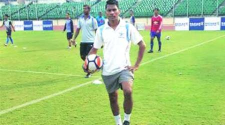 From wearing dad's boots, Arjun Tudu takes big strides