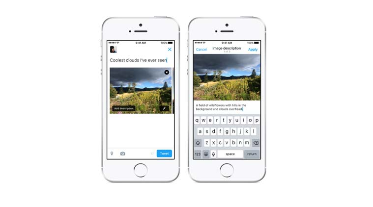 Twitter, Twitter feature for visually impaired, Twitter Image Alt text, How to add alt text to image in Twitter, Social media, accessibility, technology, technology news
