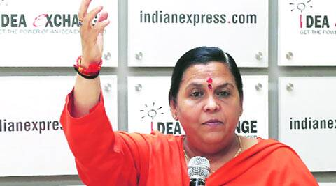 water crisis, freshwater, water law, Water Resources Minister, Uma Bharti, Idea Exchange event, treated water, india news