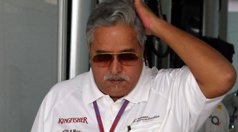 Vijay Mallya Express photo by RAVI KANOJIA.