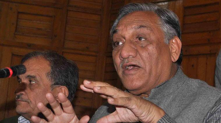 Vijay bahuguna, bjp national executive meet, bahuguna bjp, bjp national executive bahuguna, uttarakhand government, bahuguna in BJP, Congress, national news, india news, politics, bjp latest news