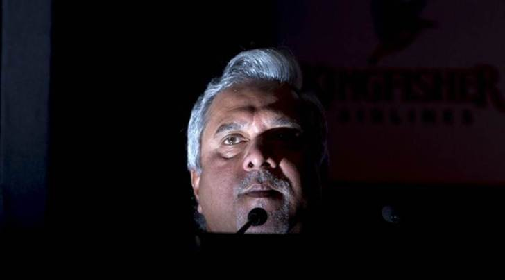 Vijay Mallya speaks to the media during a news conference in Mumbai. Reuters