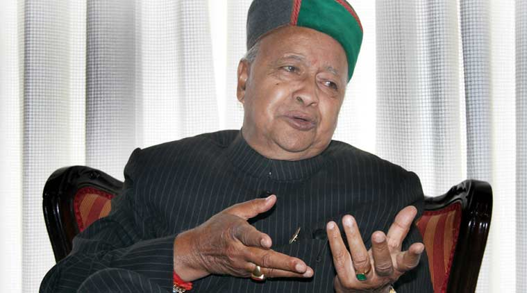 Virbhadra singh, himachal pradesh cm virbhadra singh, himachal, hp, virbhadra, singh, himachal pradesh pwd, public works department, himachal public works department, himachal bjp, bjp, congress, bjp congress, congress bjp, bjp virbhadra singh, himachal pradesh news, india news