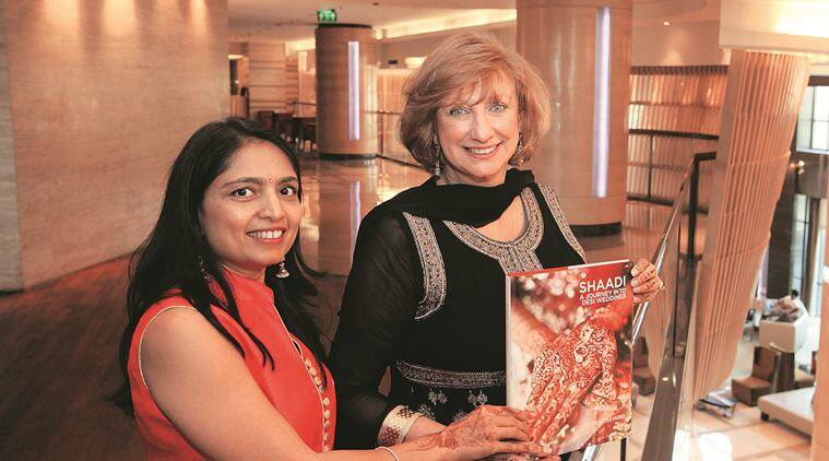 A planner for indian pakistani weddings from us is now promoting american indian women therese cole hubbs and urvashi mishra they are in chandigarh to junglespirit Images