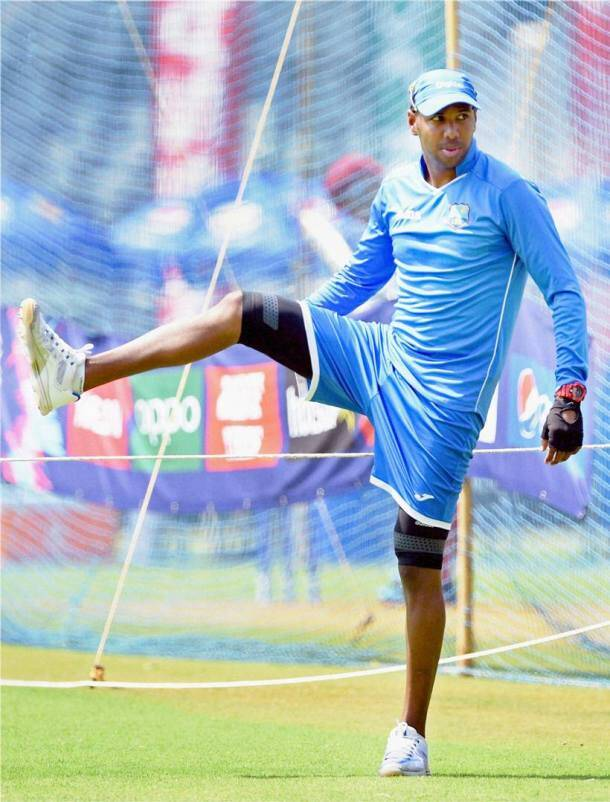 West Indies's practice session