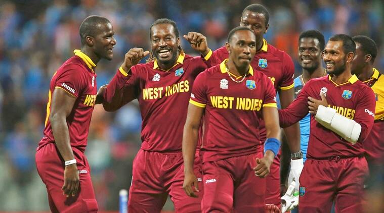 India Vs West Indies West Indies Celebrate Semis Win With