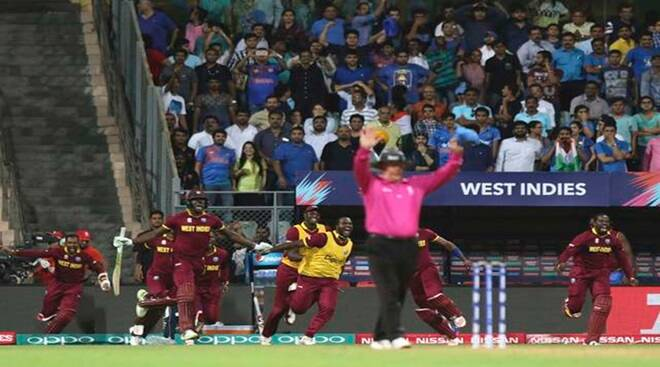 India vs WI: WI gun down 193-run target set by Ind, enter World Twenty20 final