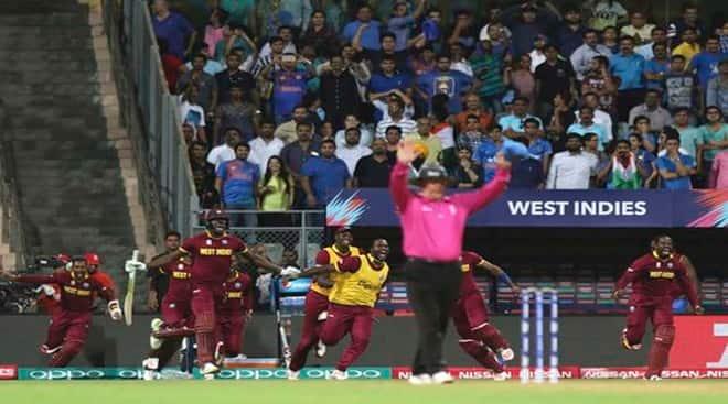 India vs WI: WI gun down 193-run target set by Ind, enter World Twenty20final