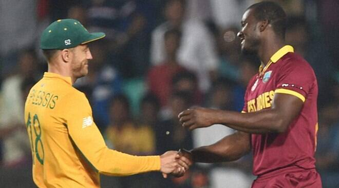 West Indies beat South Africa in low scoring match