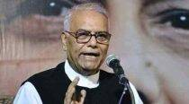 Condition in J&K will soon become better: Yashwant Sinha after meeting separatists