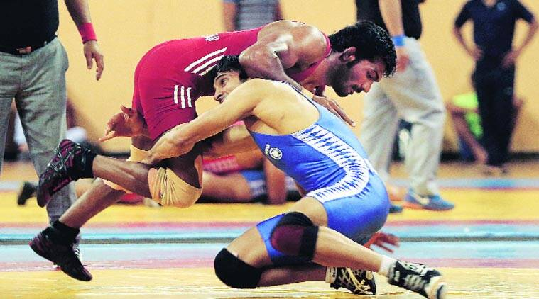 In fledgling rivalry, Yogeshwar Dutt prevails over Amit Dhankar  The Indian ...