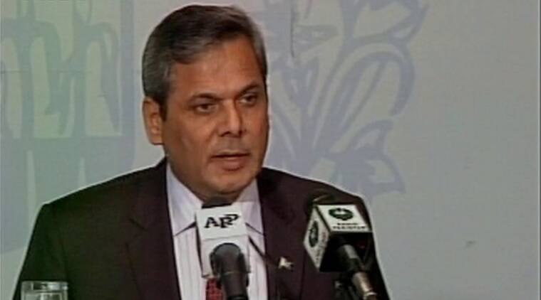 Paksitan Foreign Office spokesperson Nafees Zakaria. (Source: ANI/Twitter)