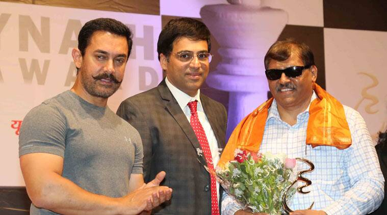 Aamir Khan, Aamir Khan chess, Vishwanathan Anand